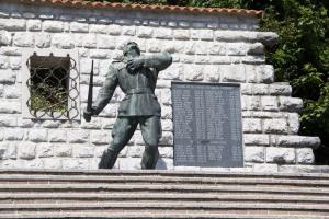 Slovenian WW2 memorial.