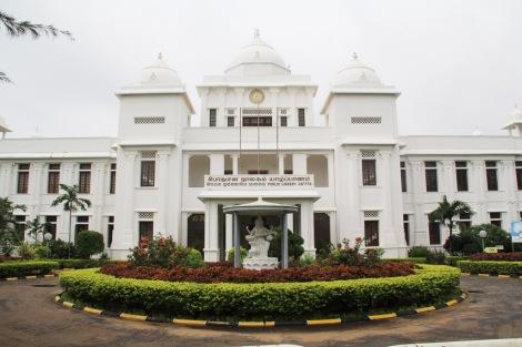 Jaffna Tamil library