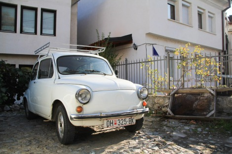 Macedonia... back to amazing old cars!