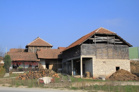 A typical Serbian farmhouse.. so organised and self sufficient!