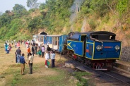 The toy train up to Ooty.