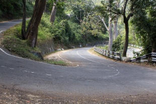 The amazing roads down from Ooty