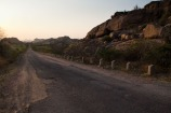 The road towards Hampi