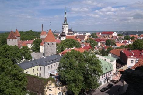 Tallinn old town.