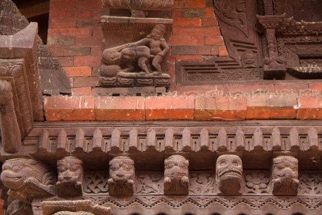 Naughty temple carvings...